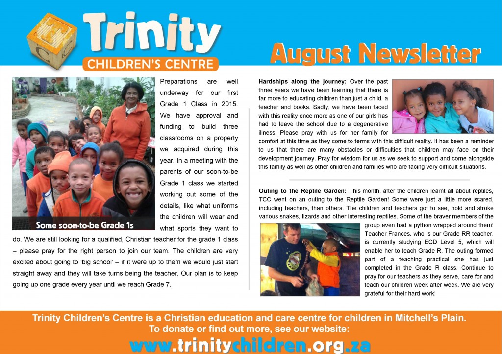 TCC Newsletter 2014-08