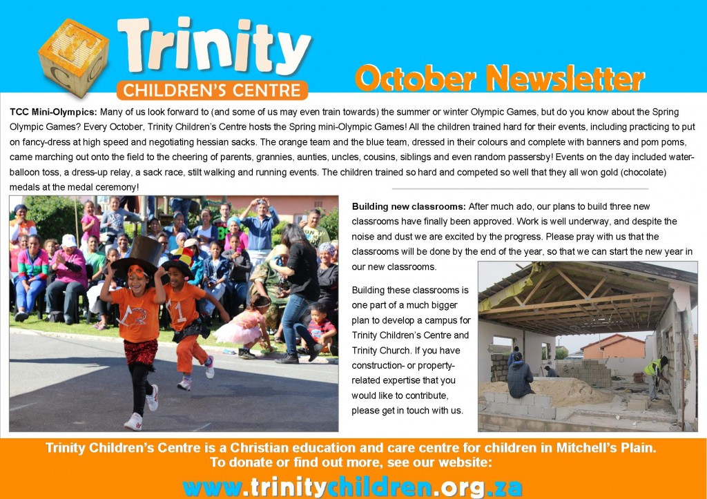 TCC Newsletter 2014-10