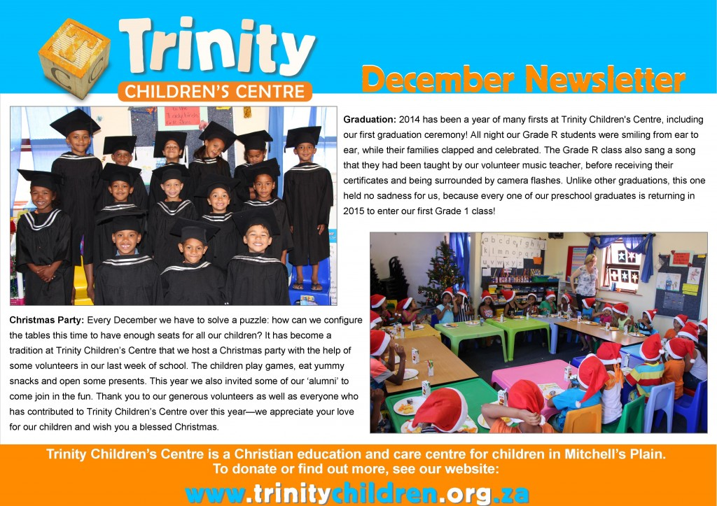 TCC Newsletter 2014-12