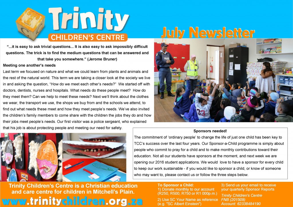 TCC Newsletter 2015-07