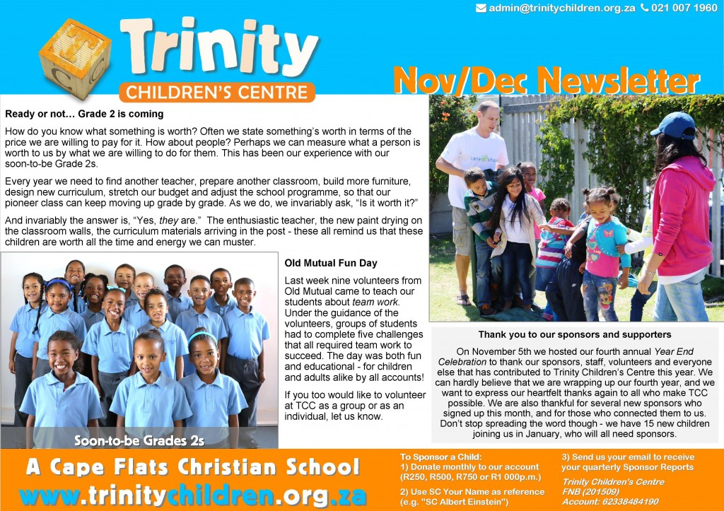 TCC Newsletter 2015-11