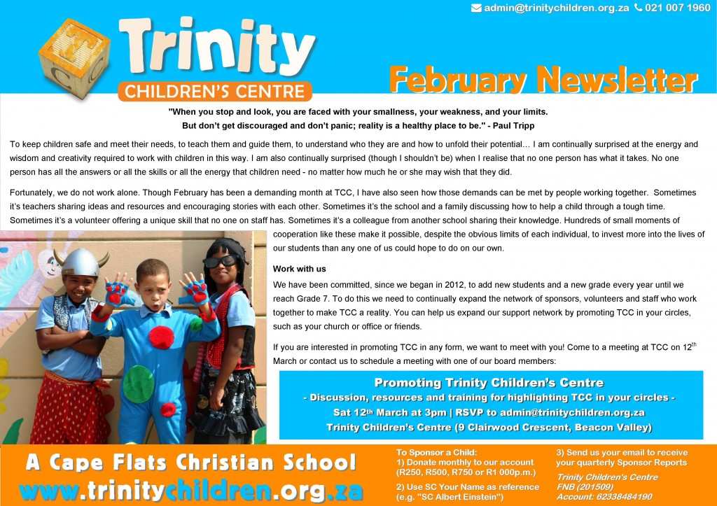 TCC Newsletter 2016-02