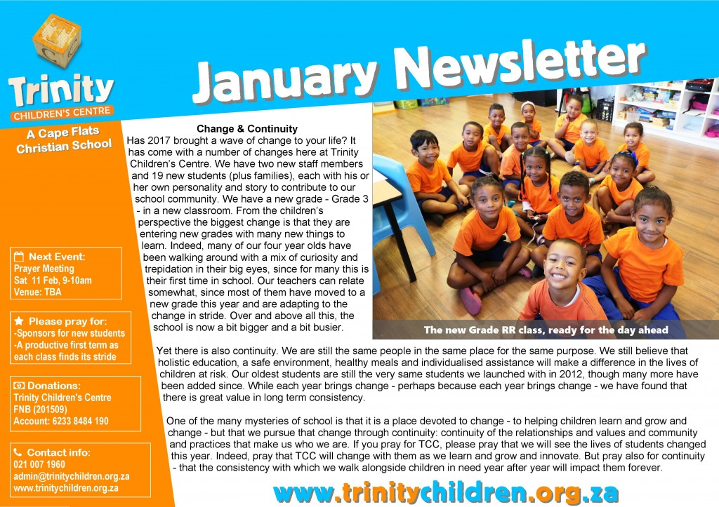 TCC Newsletter 2017-01